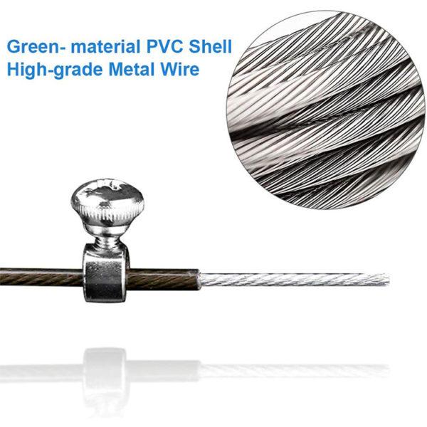 Speed rope springtouw zwart met aluminium handvatten specs2